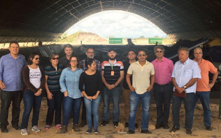 Nutec visita Centro de Tratamento de Resíduos em Pernambuco