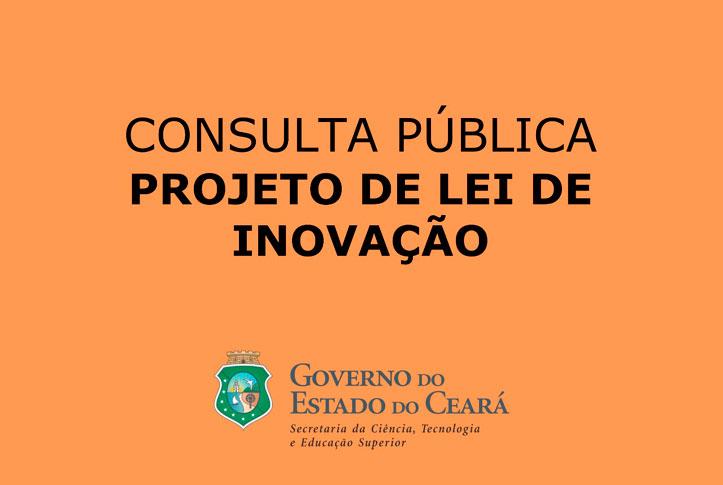 Consulta Pública – Projeto de Lei de Inovação