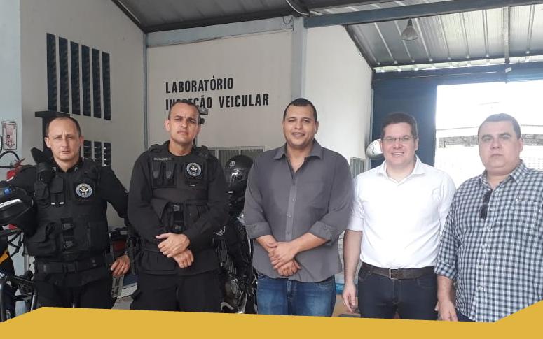 Incubada do Nutec apresenta soluções tecnológicas na área de segurança pública