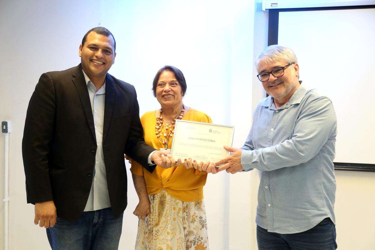 Nutec realiza cerimônia de graduação de empresa incubada