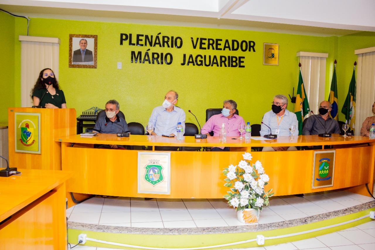 """Jaguaruana: Inácio participa de reunião sobre """"Indicação de Procedência"""""""